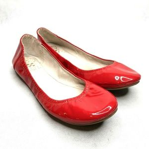 Vince Camuto Ellen Red Patent Leather Ballet Flats